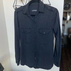 Zara | Premium Denim Collection Button Down Shirt